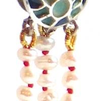 Medusa, un bijou de Clémentine Correzzola, Bijoutière émailleuse – Enamelling jewelry